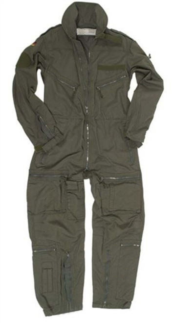 German OD Flight Coverall from Hessen Surplus
