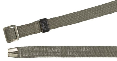 Russian Army OD Canvas Trouser Belt from Hessen Antique