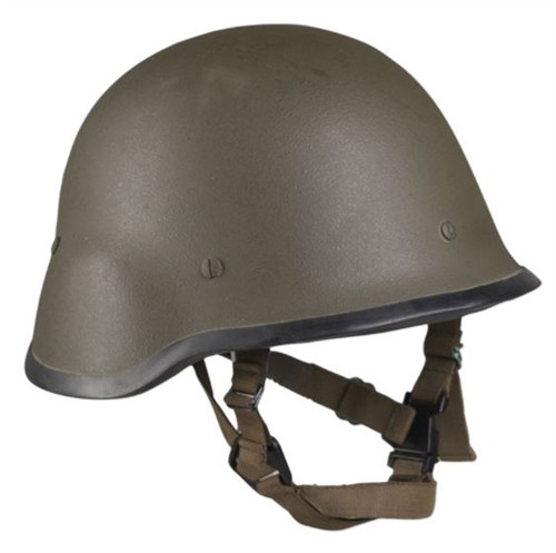 Czech OD Kevlar Helmet - Used from Hessen Antique