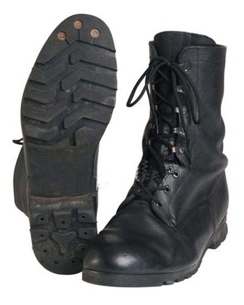 Czech M90 Black Combat Boots from Hessen Antique