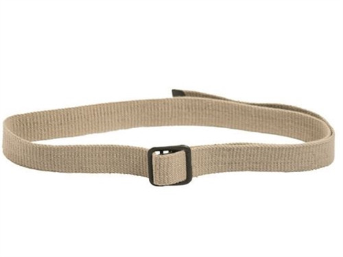 French Army Khaki Trouser Belt from Hessen Antique