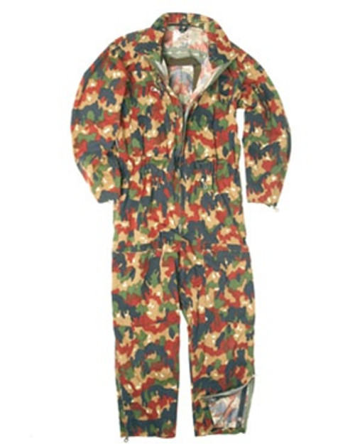 Swiss Camo Tanker Coverall from Hessen Surplus