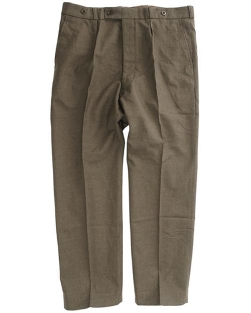 Belgium OD Uniform Pants - Used from Hessen Surplus