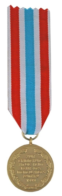 Memel Medal from Hessen Antique