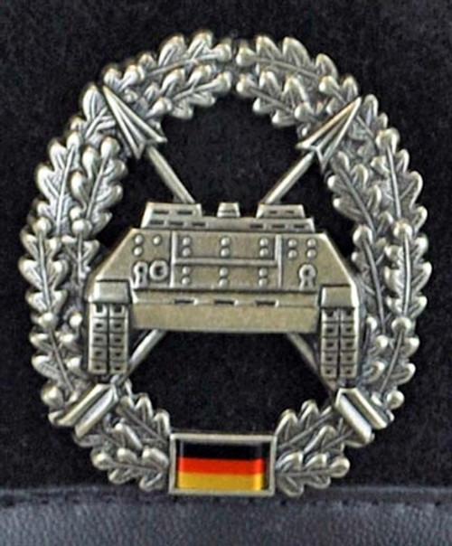 Bundeswehr Panzerjäger Beret from Hessen Antique