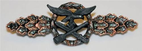 Luftwaffe Day Fighter Clasp bronze from Hessen Antique