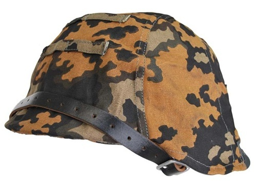 SS-Oak A Camo Helmet Covers