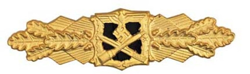 Close Combat Clasp in Gold (Nahkampfspange) from Hessen Antique