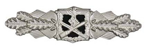 Close Combat Clasp in Silver (Nahkampfspange) from Hessen Antique