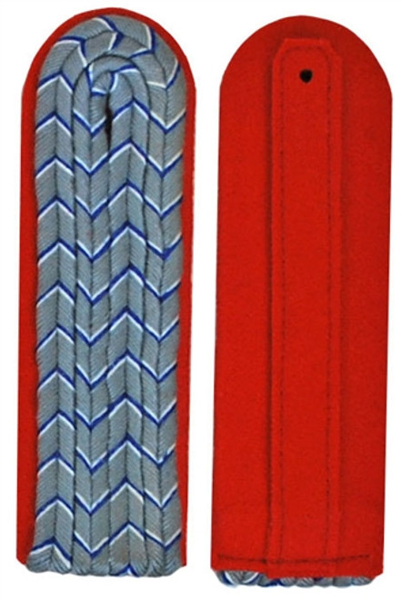 Slip-on Pattern Bavarian Lieutenant Shoulder Boards Saxony- German Made from Hessen Antique