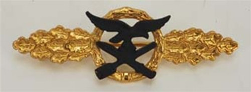 Luftwaffe Day Fighter Clasp Gold from Hessen Antique
