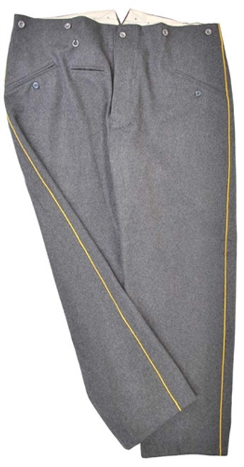 Custom Order German Piped Dress Trousers