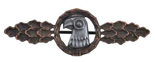 Luftwaffe Reconnaissance Clasp - Bronze from Hessen Antique
