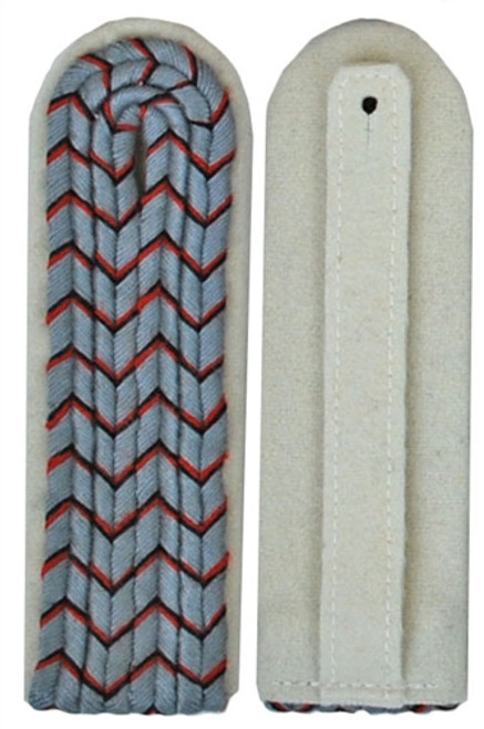 Slip-on Pattern Wuerttemberg Lieutenant Shoulder Boards Saxony- German Made from Hessen Antique