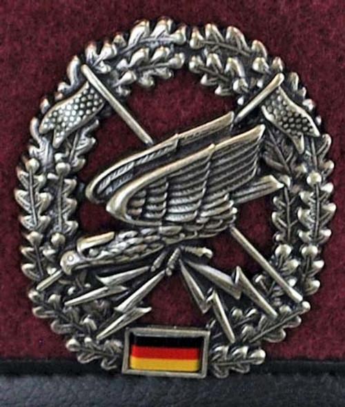Bundeswehr Fernspähtruppe Beret from Hessen Antique