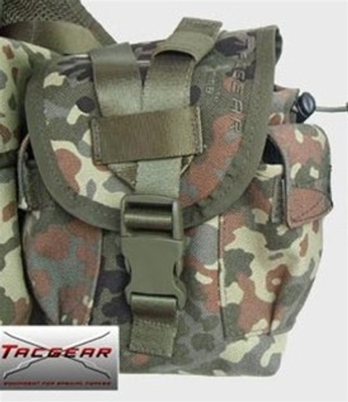 Flecktarn Canteen / Utility Pouch from Hessen Antique