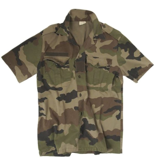 French Army Short Sleeved Shirt