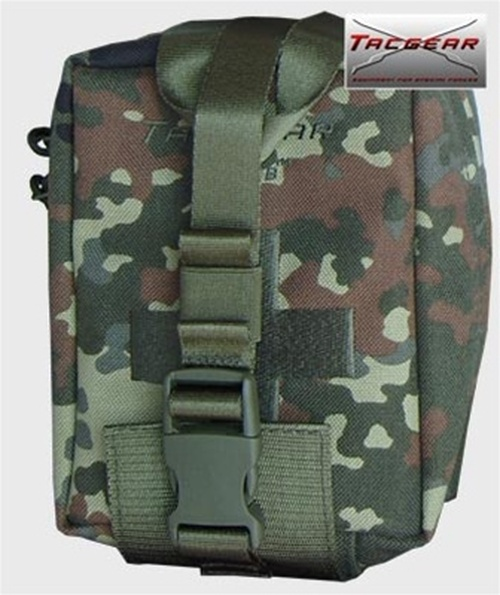 Flecktarn Improved First Aid Kit Pouch from Hessen Antique
