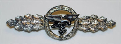 Luftwaffe Transport and Glider Squadron Clasp - Silver from Hessen Antique