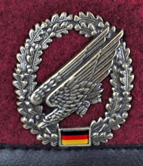 Bundeswehr Fallschirmjäger Beret from Hessen Antique