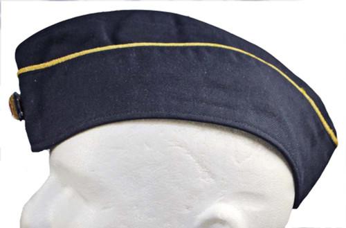 German Navy Officer's Overseas Cap - Used
