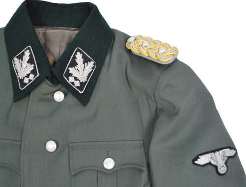 SS General Officer's M35 Gabardine Jacket With Insignia