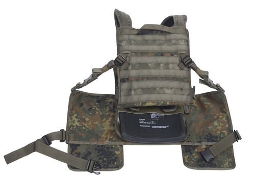 775TACTICAL MODULAR VEST DELTA - Flecktarn from Hessen Antique