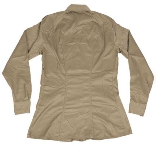 Italian Khaki Long Sleeve Service Shirt