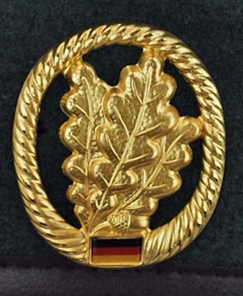 Bundeswehr Jägertruppe Beret from Hessen Antique