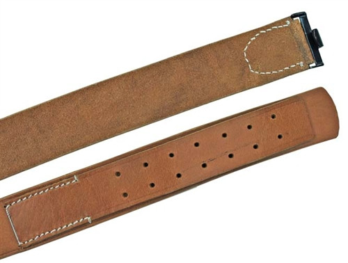German 1909 Leather Equipment Belt from Hessen Antique