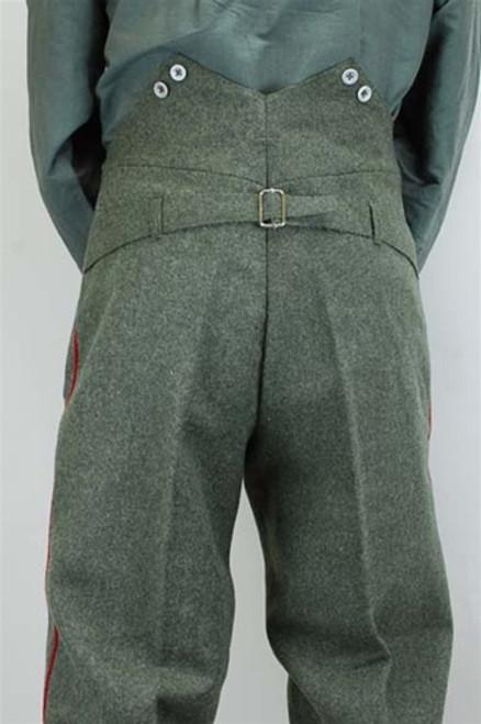 Model 1907/10 Feldgrau Feldhosen German Trousers from Hessen Antique