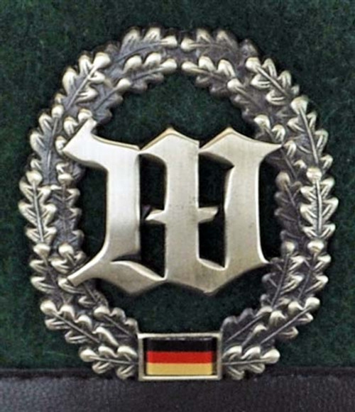 Bundeswehr Wachbatallion Beret from Hessen Antique