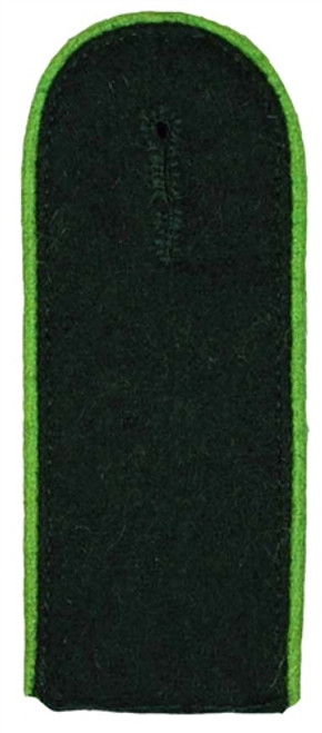 Enlisted Shoulder Boards on Bottle-Green wool