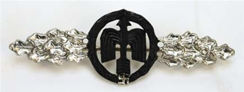 Luftwaffe Night Fighter Clasp - Silver from Hessen Antique
