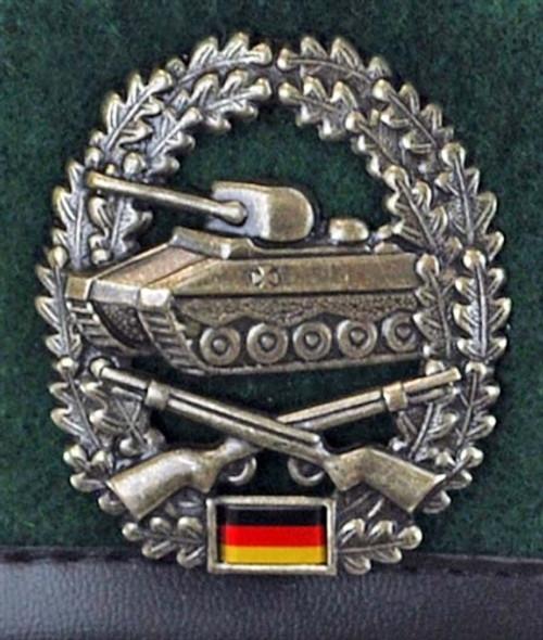 Bundeswehr Bundeswehr Panzer Grenadier Beret from Hessen Antique