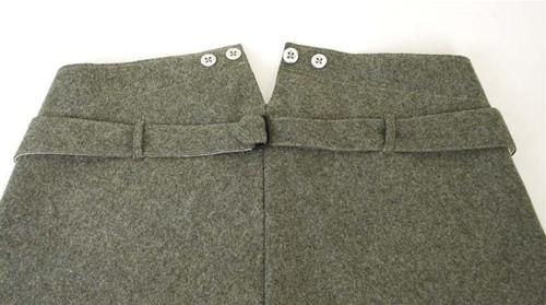 Model 1910/14/15 Feldgrau Feldhosen German Trousers from Hessen Antique