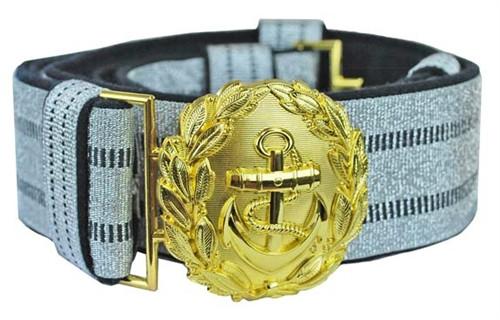 Kriegsmarine Officer's Brocade Belt & Buckle from Hessen Antique