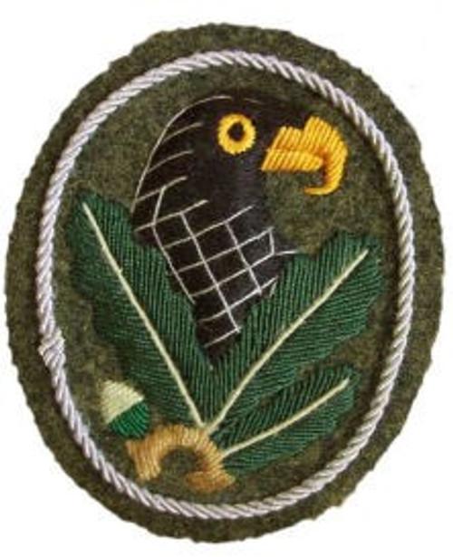 Sniper's Badge 2nd Class from Hessen Antique