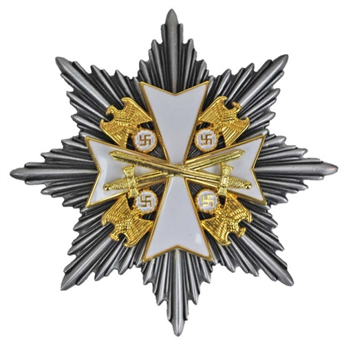 Grand Cross of the Order of the German Eagle with Star from Hessen Antique