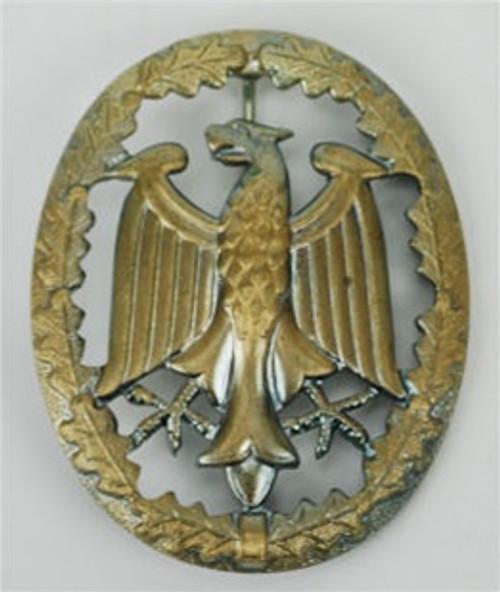 Bundeswehr German Army Leistungsabzeichen - Bronze from Hessen Antique.  Assmann quality