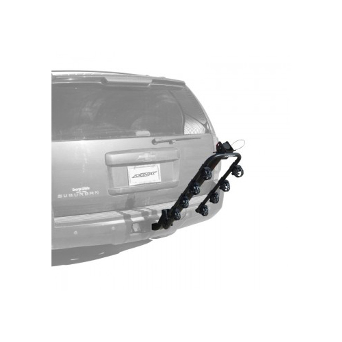 Force Rax   S.2 Deluxe 4 Bike Hitch Car Rack for 2 inch Hitch