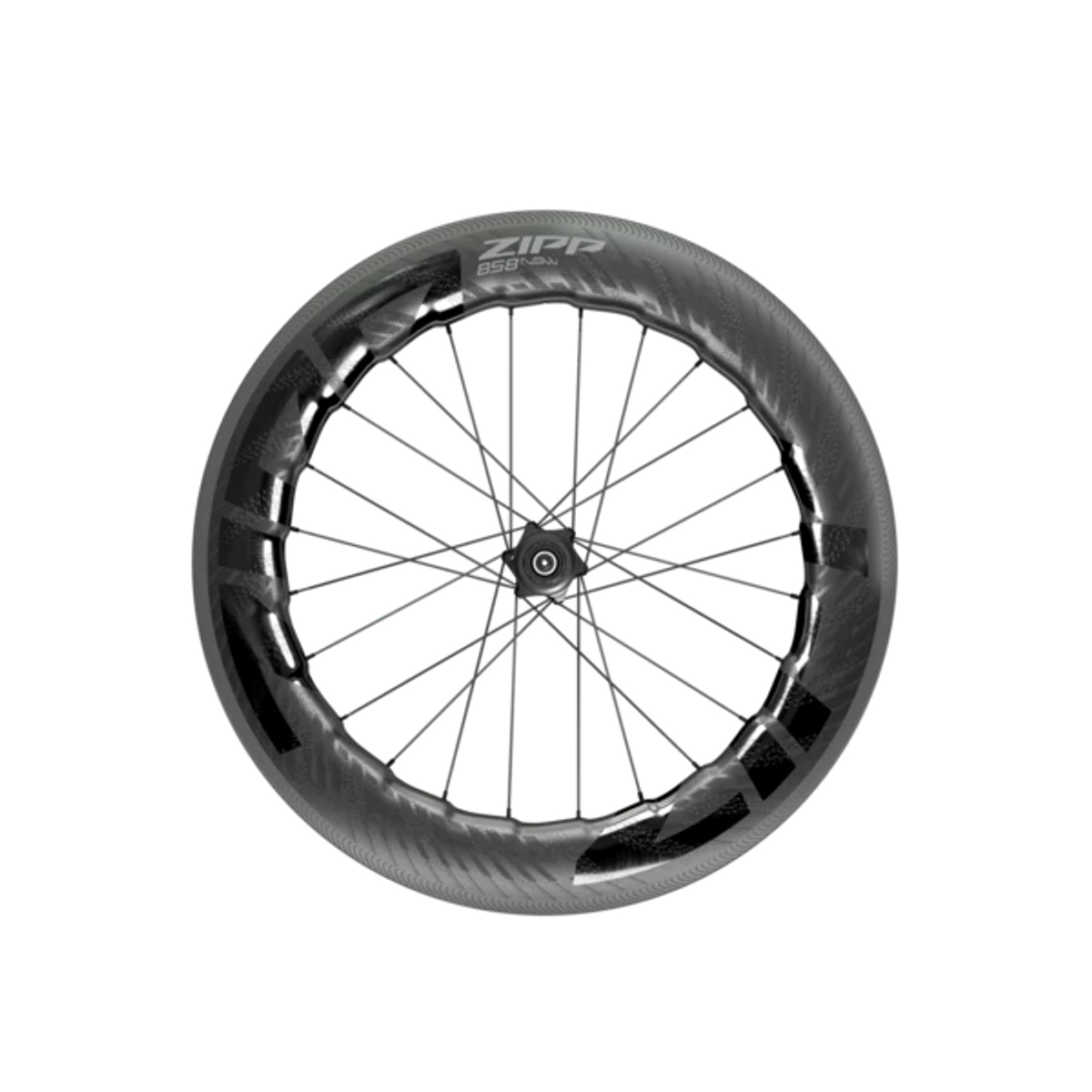 Zipp 858 NSW Carbon Tubeless Rim Brake - Rear Wheel