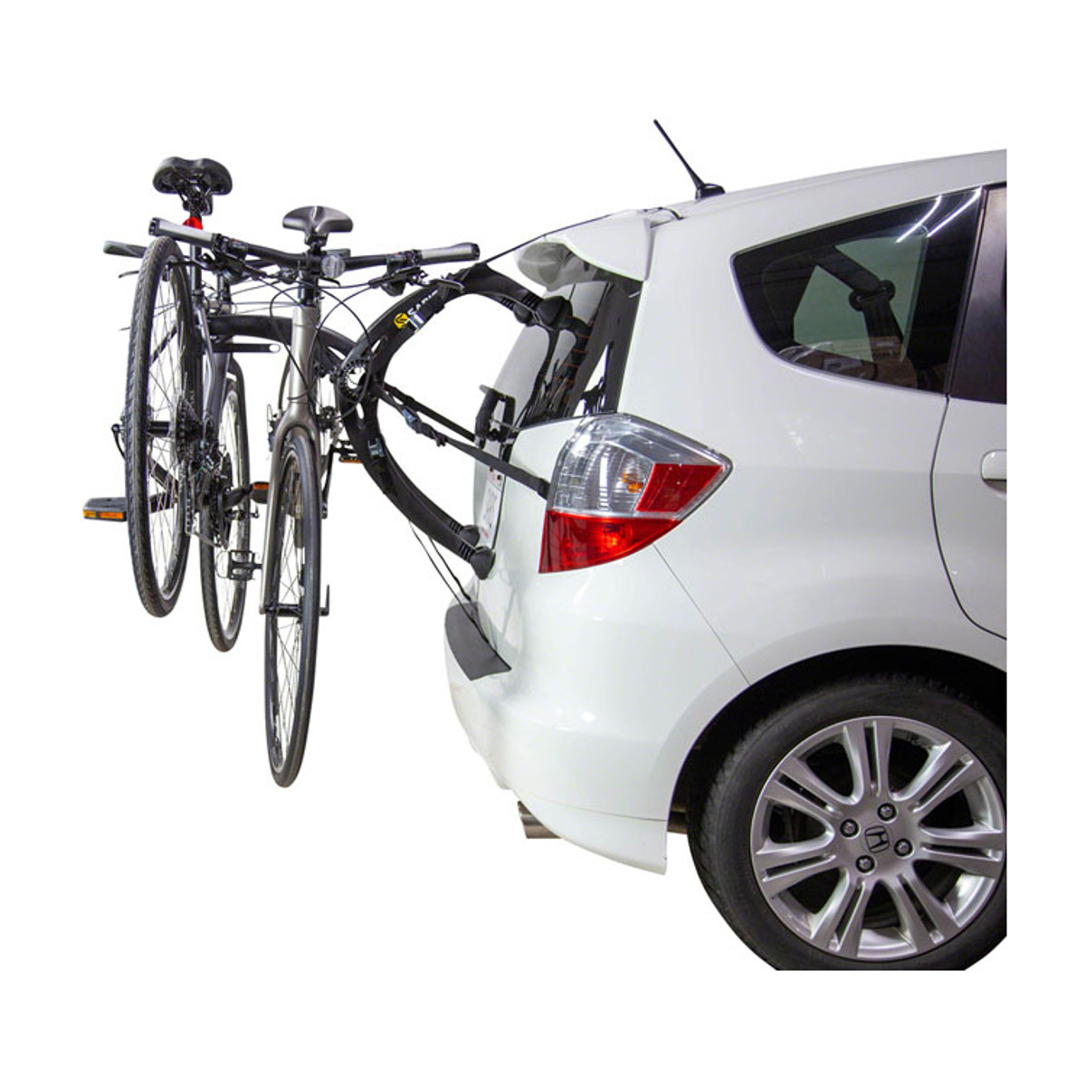 Saris Bones EX Trunk Rack: 2 Bike, Black