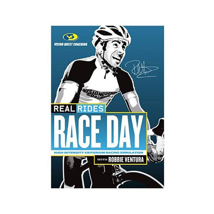 CycleOps Real Rides Race Day Trainer DVD (sealed)