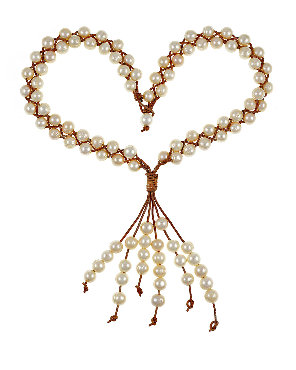 d93db3026ac Lovely Lahaina White Double Strand PEARL Necklace