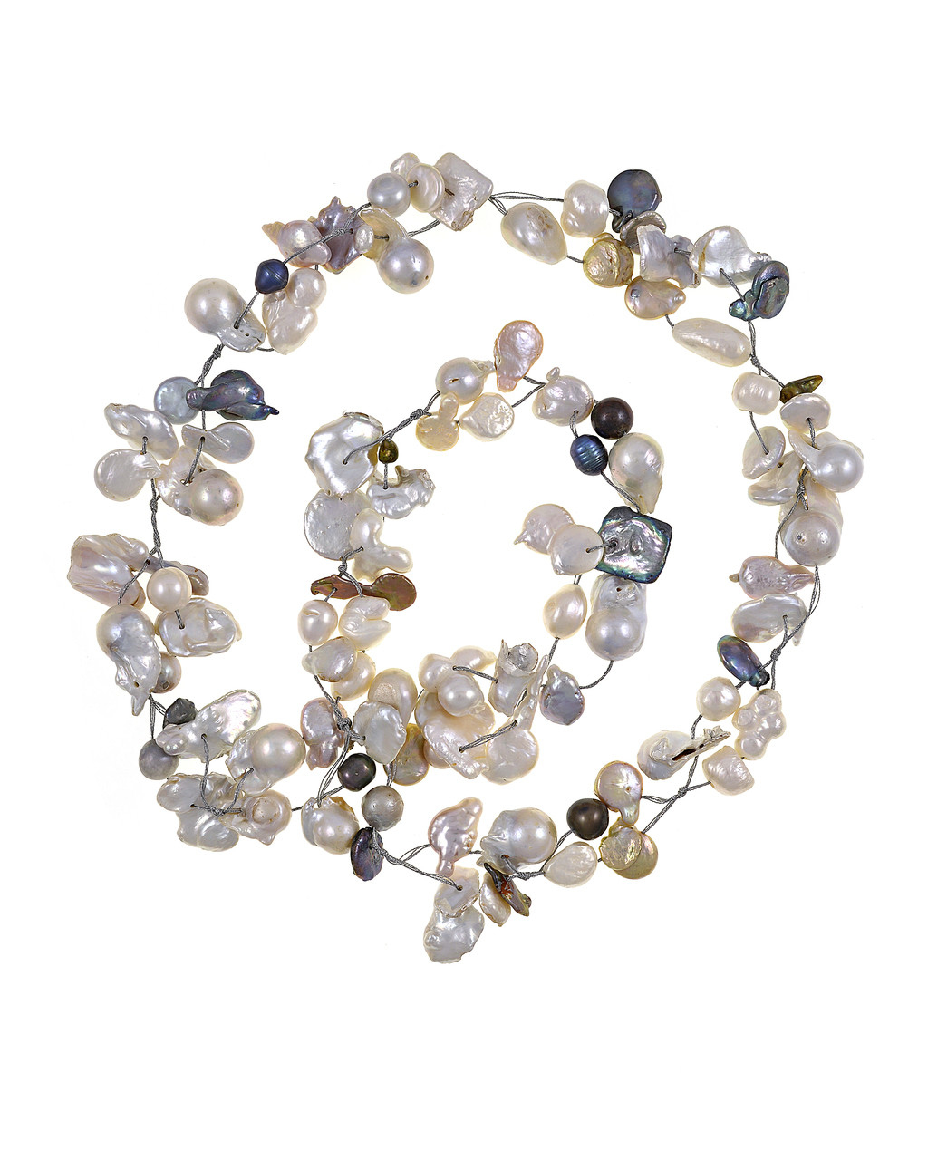 61eaeeff8fe68 Atlantis - Mixed Pearl Necklace