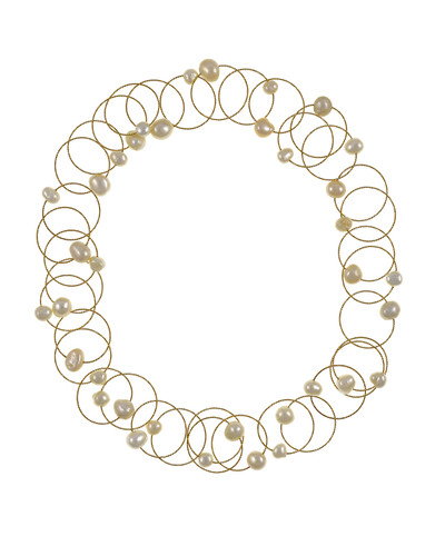 0c7f9f67444 PEARL Necklace, Paparazzi Ready! White PEARLS and Chain