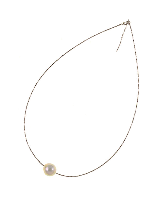ef7c1836dc668 South Beach - Pearl Bauble Necklace
