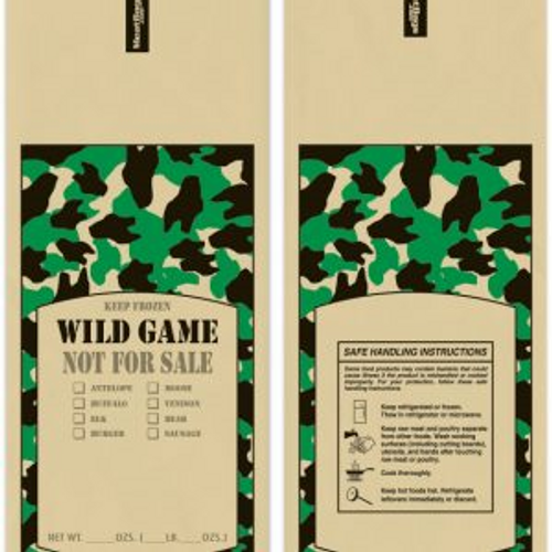 Wild Game Meat Bag
