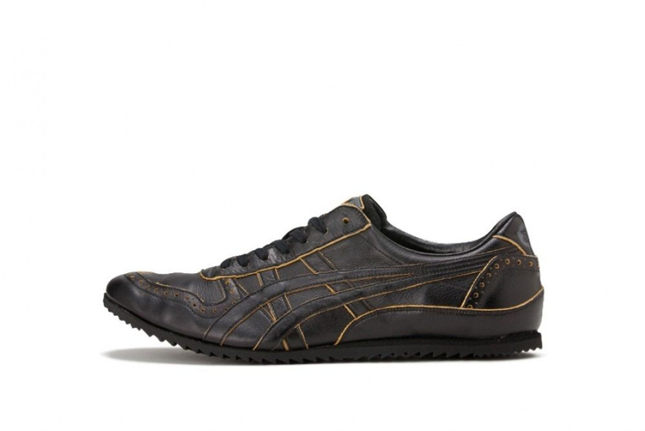 super popular cf2e0 f62eb ASICS Onitsuka Tiger THL503 ULTIMATE TRAINER Men Shoes Black yellow 25cm  Japan